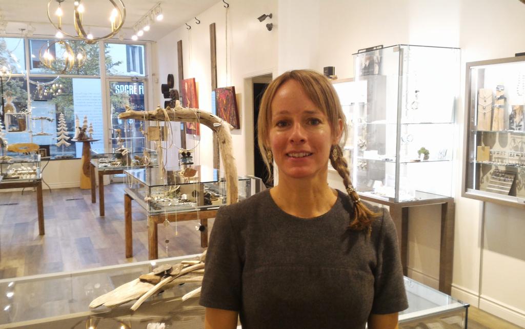 Chantal Gauthier (Galerie LoLy), le trésor de la promenade Fleury